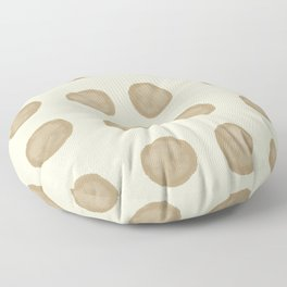 Dots on the table #441 Floor Pillow