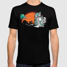 BB-Gir Black MEDIUM Mens Fitted Tee