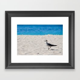 hey dude! Framed Art Print