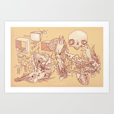 Deconstructed Art Print