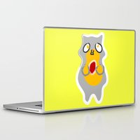 racoon Laptop & iPad Skins featuring Racoon by Jessica Slater Design & Illustration