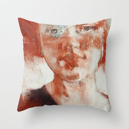 Sorrows and Desires Throw Pillow