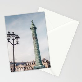 Paris in Fall Stationery Cards