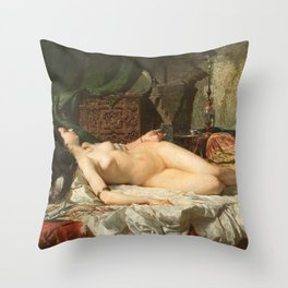The Odalisque - Fortuny Throw Pillow