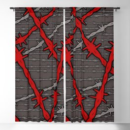 Barbed Blackout Curtain