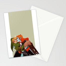 tiny hylian boyfriend Stationery Cards
