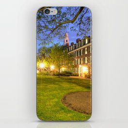 Pierson College courtyard at Yale University iPhone Skin