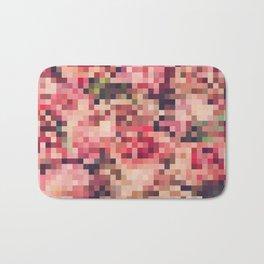 Pixel pattern Bath Mat