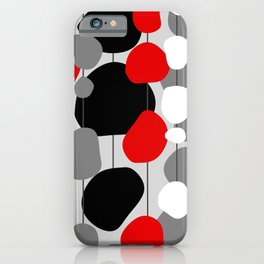 Hanging By A Thread - Abstract iPhone Case
