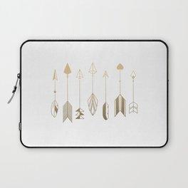 Be Brave Little Arrow (gold) Laptop Sleeve