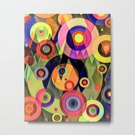 Op Art 794.1 Metal Print