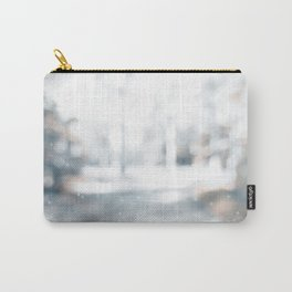 Blurry landscape forest path Carry-All Pouch