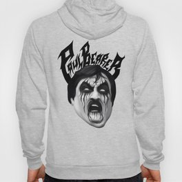 Black Metal Paul Bearer Hoody