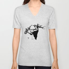 AniMusic (DEER) Unisex V-Neck