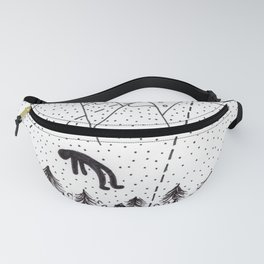 Alien Abduction Fanny Pack