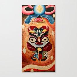 Kabuki King Canvas Print