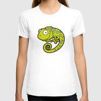 chameleon T-shirts featuring Chameleon by Martin Jonas