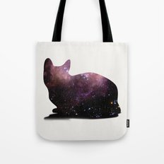 Willow the Galaxy Cat! Tote Bag