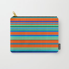 Stripes-005 Carry-All Pouch