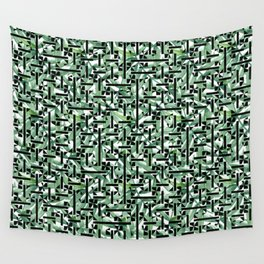 shapes and leaves Wall Tapestry