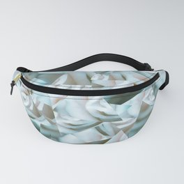 Abstract roses Fanny Pack