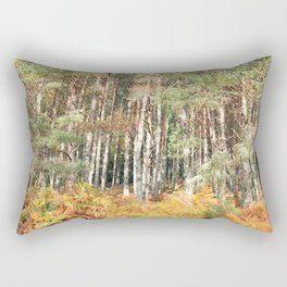 I have a room all to myself; it is nature Rectangular Pillow
