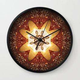 Elegant, decorative kaleidoskop Wall Clock