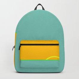 Green Flash #ocean #minimal Backpack
