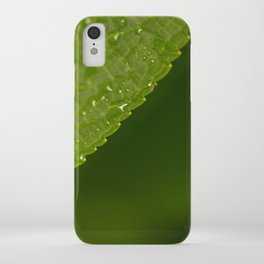 Floral Leaf 05 | Nature Photography iPhone Case