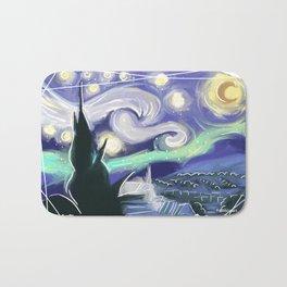 Starry Night Bath Mat