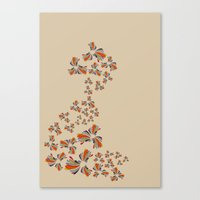 wind Canvas Prints featuring Wind by LindsayMichelle