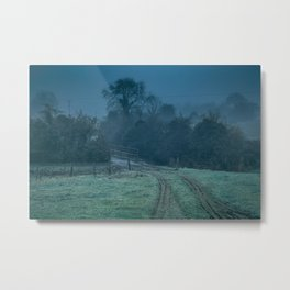 Ancient Pathway into the Misty Past Metal Print