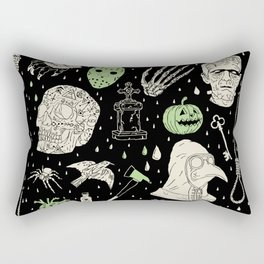 Whole Lot More Horror: BLK Ed. Rectangular Pillow