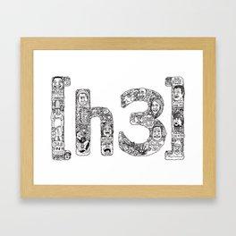 [h3] Doodles Framed Art Print