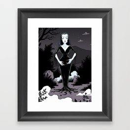 Vampira Framed Art Print