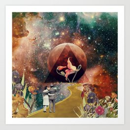 PinkFloyd Love Art Print