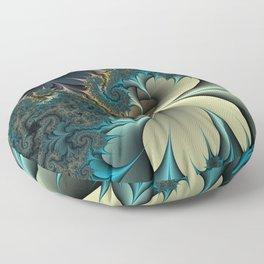 Birds of a Feather Fractal Floor Pillow