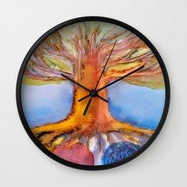 Yggdrasil, Nifleheim and Muspelheim Wall Clock