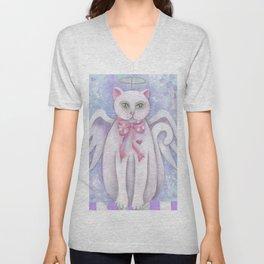 The Angel Cat Unisex V-Neck