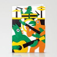band Stationery Cards featuring The Band by Jacopo Rosati