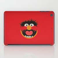 muppets iPad Cases featuring The Muppets Show Vintage Art Animal Retro Style Minimalist Poster Print by The Retro Inc