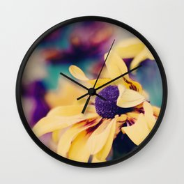 flowers I Wall Clock