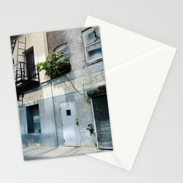 Blue Street Abstracts 5 Stationery Cards