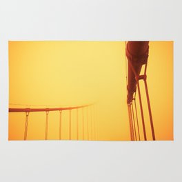 Golden - Golden Gate Bridge Rug