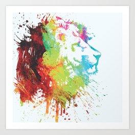león Art Print