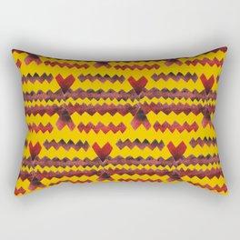Ethnic diamond Rectangular Pillow