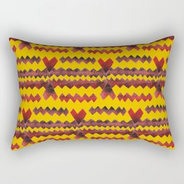 Ethnic diamond Rectangular Pillow