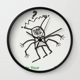 Feeling a Bit Alien? Wall Clock
