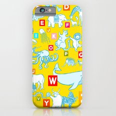 Yellow Alphabet Slim Case iPhone 6s