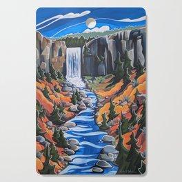 Tumalo Falls Cutting Board